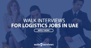 logistics job in uae